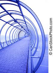 fantastic corridor - fantastic urban view of the corridor