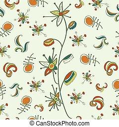 fantastic flower pattern