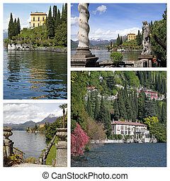 Fantastic landscape  of Villa Monastero and views from there , V