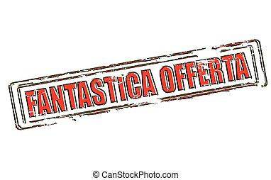 Fantastic offer