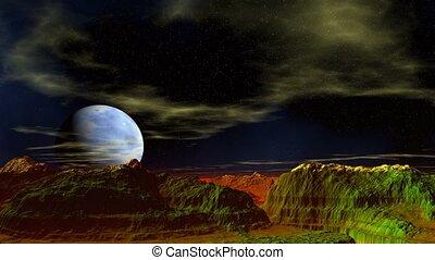 Fantastic planet.
