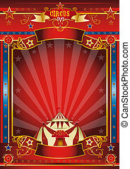 Fantastic poster circus - a wonderful circus poster for your...