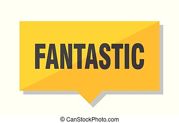 fantastic price tag - fantastic yellow square price tag