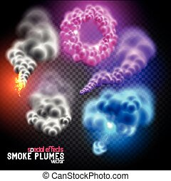 Fantastic Vector Smoke Flumes