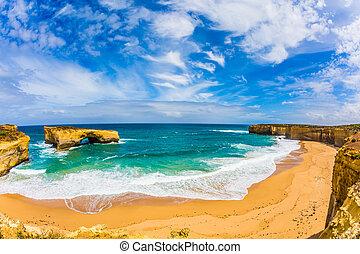 Fantastically picturesque coast
