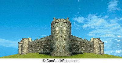 fantastique, forteresse
