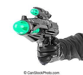 fantastique, fusil jouet