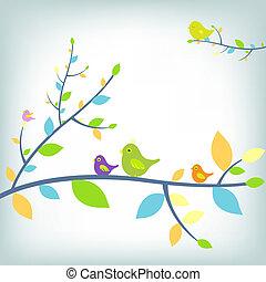 fantastique, oiseaux