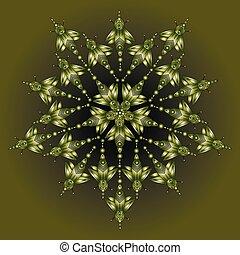 fantastisch, insecten, illustratie, fantasie, cyberpunk, isolated.vector, spotprent, butterfly.