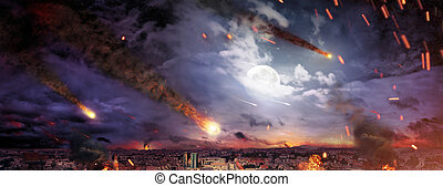 Fantasty picture of the apocalypse