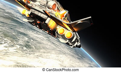 fantastyka, statek kosmiczny
