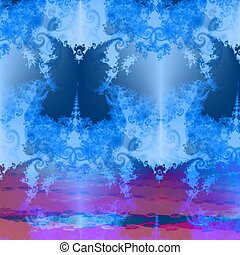 Fantasy butterfly background - Fantasy decorative fractal ...