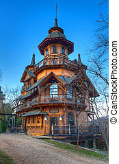Fantasy Castle - Fantasy castle built in the Ozark Mountains...