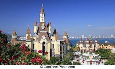 Fantasy castle in Vinperl Vietnam on the sky - Fantasy ...
