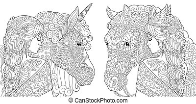 Fantasy Coloring Pages