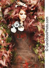fantasy fashion woman