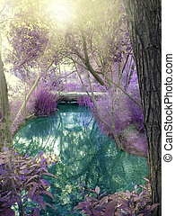 Fantasy Forest - Fantasy Fairy tale forest