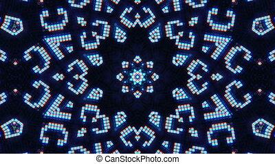 Fantasy Kaleidoscopic Computer Screen Digital Background,...