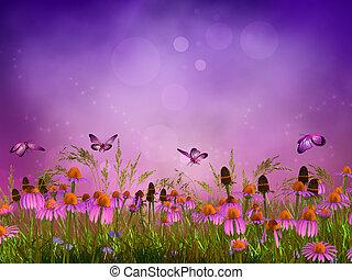Fantasy meadow