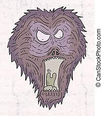 fantasy monster face