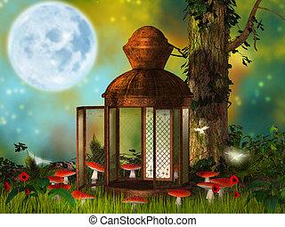fantasy  old lantern