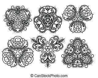 Fantasy ornaments 1