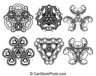 Fantasy ornaments 5