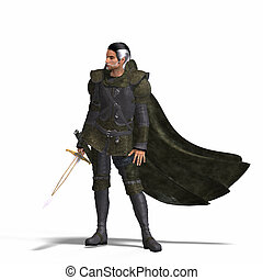 Fantasy Rogue with Sword