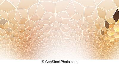 Fantasy shining fractal kaleidoscopic pattern.