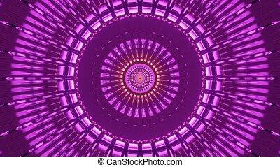 Fantasy Themed Advance Pink Tunnel 4k uhd 3d rendering vj ...