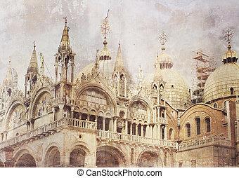 Fantasy vintage Venice