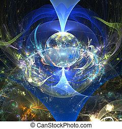 fantasy world - abstract fantasy world
