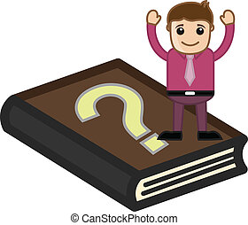 FAQ Book - Help Concept