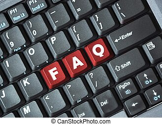 FAQ on keyboard