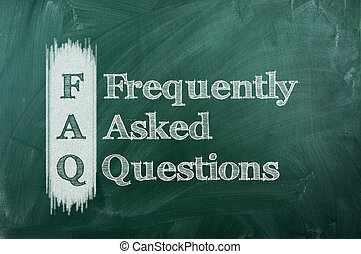 faq - frequently asked question ( FAQ ) concept for website...