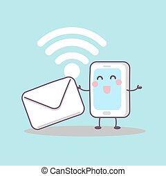 far male, telefono, con, email
