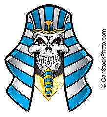 faraón, cráneo