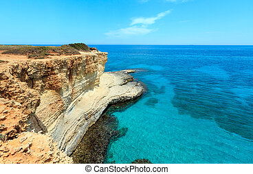 Faraglioni at Torre Sant Andrea, Italy - Picturesque...
