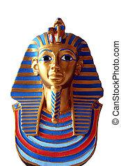 Pharaohs death mask