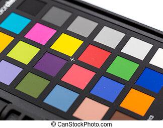farba swatches, paleta