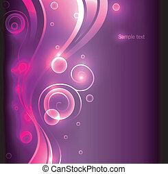 farbe, abstrakt, glühen, hintergrund