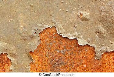 stahl durch faul korrosion blatt stahl korrosion stockfotografie suche bilder und. Black Bedroom Furniture Sets. Home Design Ideas