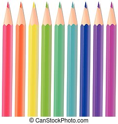 farbe, bleistifte