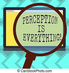 farbe foto, zeichen, identifizieren, leer, vergrößern, tablette, wie, text, begrifflich, vergrößern, ausstellung, wir, wahrnehmung, schirm, space., ausfall, everything., unterschied, glas, niederlage, marken, oder