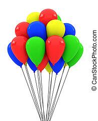 farbe, luftballone
