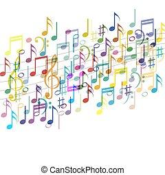 farbe, musik