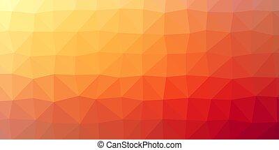 farbe, polygonal, hintergrund