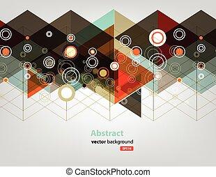 farbe, technologie, vernetzung, punkt