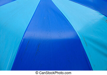 farbe, umbrella., sandstrand, hintergrund