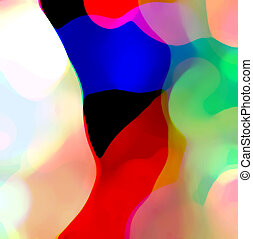 farbe, zusammensetzung, abstrakt